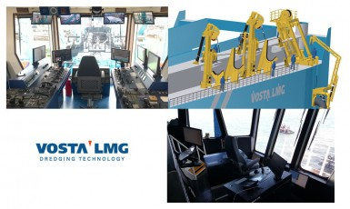 VOSTA LMG secures order for Dredge Automation and Side Suction Pipe Gantry Systems from Conrad Shipyard