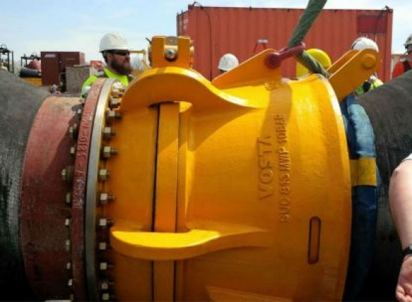 Quick connect dredge hose coupling successfully tested
