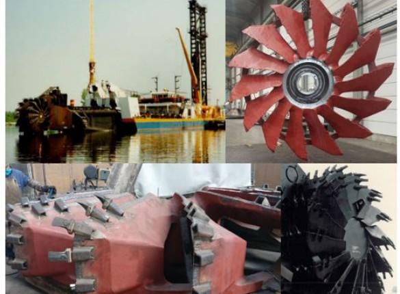 Underwater Cutting Wheels for Rudnik Kovin