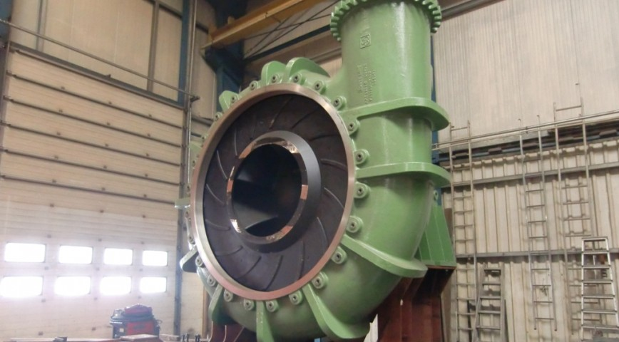 Dredge Pumps - Components   VOSTA LMG - Dredging Technology