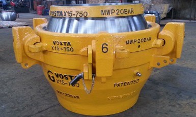 VOSTA LMG delivers efficient dredge ball joints
